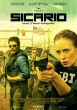 Plakat filmu Sicario