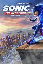 Plakat filmu Sonic. Szybki jak błyskawica
