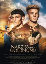 Plakat filmu Narcyz i złotousty