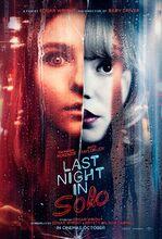 Plakat filmu Ostatniej nocy w Soho